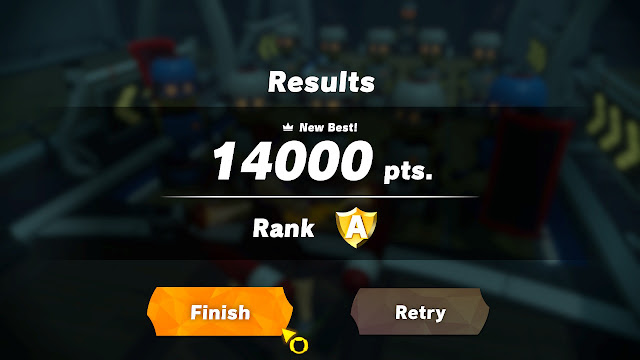 Core Crushing Ring Fit Adventure 14000 points rank A