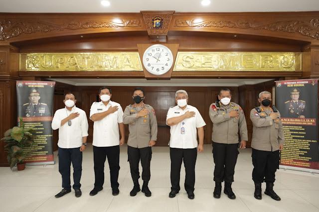 BNN dan BNNP Bersinergi Berantas Narkotika di Jatim