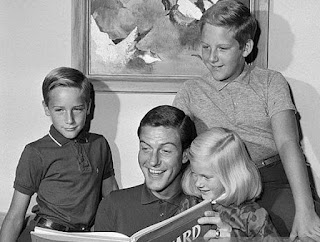 Stacy Van Dyke with her dad and siblings brother