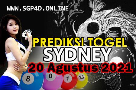 Prediksi Togel Sydney 20 Agustus 2021