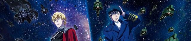 Primer vídeo e imagen de The Legend of the Galactic Heroes: Die Neue These Gekitotsu.