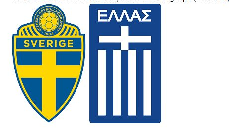 Sweden vs Greece Preview, Odds & Betting Tips