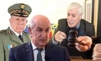 فرحات مهني زعيم الماك يقصف رئيس الجزائر تبون ويتحداه امام العالم
