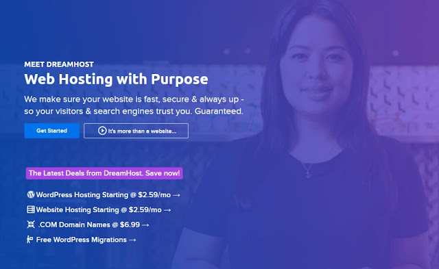 DreamHost Review 2022 with its features and Pros & Cons