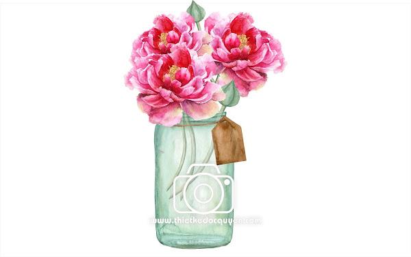 Vector Bình hoa