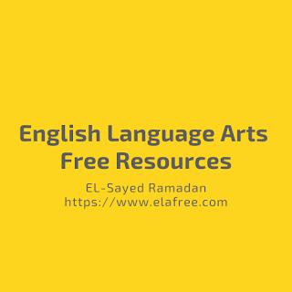 English Language Arts Free Resources