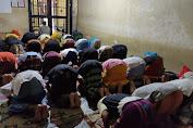 Sebelum Diajak Dzuhur, Para Tahanan di Rutan Polres Dompu dapat Siraman Rohani Tentang ini