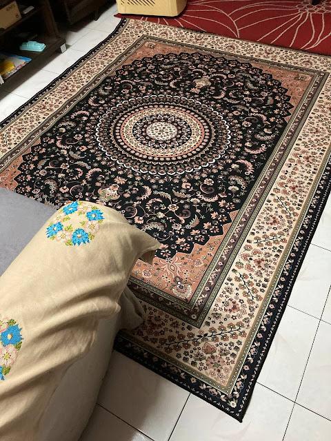Unboxing Karpet Heritage 3D Dari Shopee!