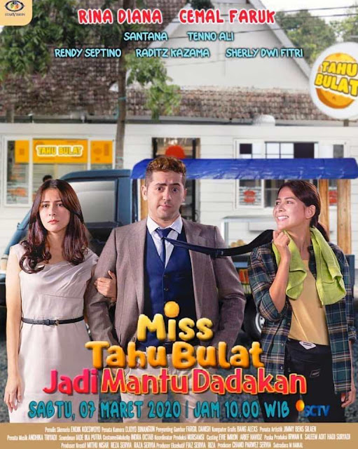Daftar Nama Pemain FTV Miss Tahu Bulat Jadi Mantu Dadakan SCTV Lengkap