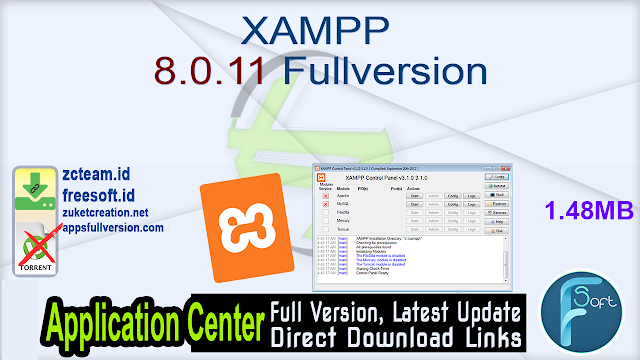 XAMPP 8.0.11 Fullversion