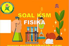 Soal Dan Kunci Jawaban KSM Fisika MA Kabupaten/Kota