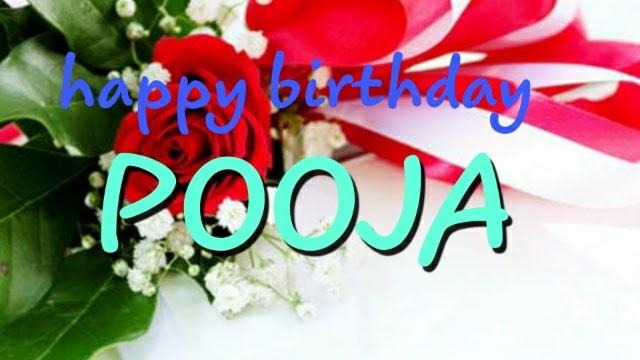 Happy Birthday dear pooja in hindi /happy birthday dear pooja in hindi/ Happy Birthday Pooja shayari / pooja janamdin mubarak ho