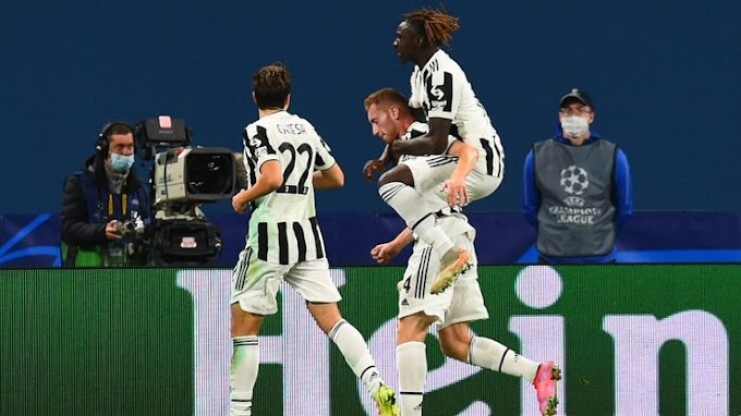 Zen it 0 - 1 Juventus: Kulusevski at his zenith as Old Lady down Zenit
