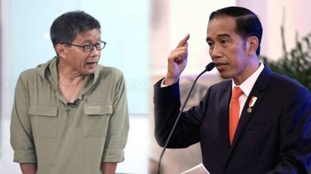 Jokowi Dianggap Lebih Jenius dari Joe Biden, Rocky Gerung: Iya, Jenius Menghalangi Orang Mengkritik!
