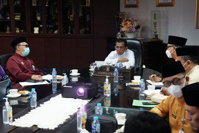 Gubernur Kepri Pimpin Rapat Satgas Percepatan Vaksinasi