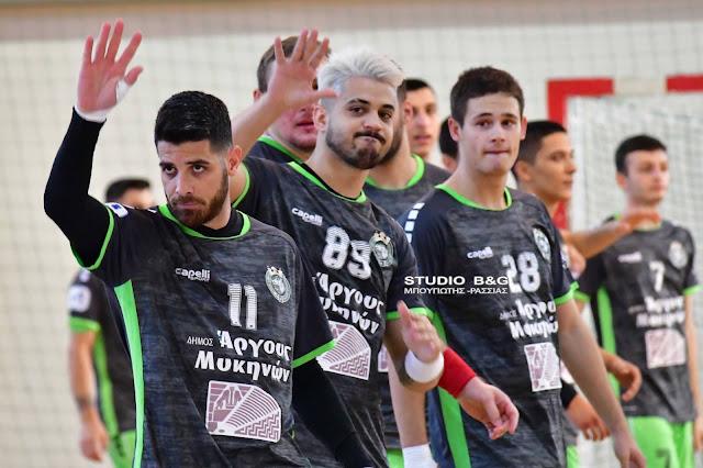 Απαιτητική εβδομάδα με τρια σπουδαία ματς για τον Διομήδη Άργους