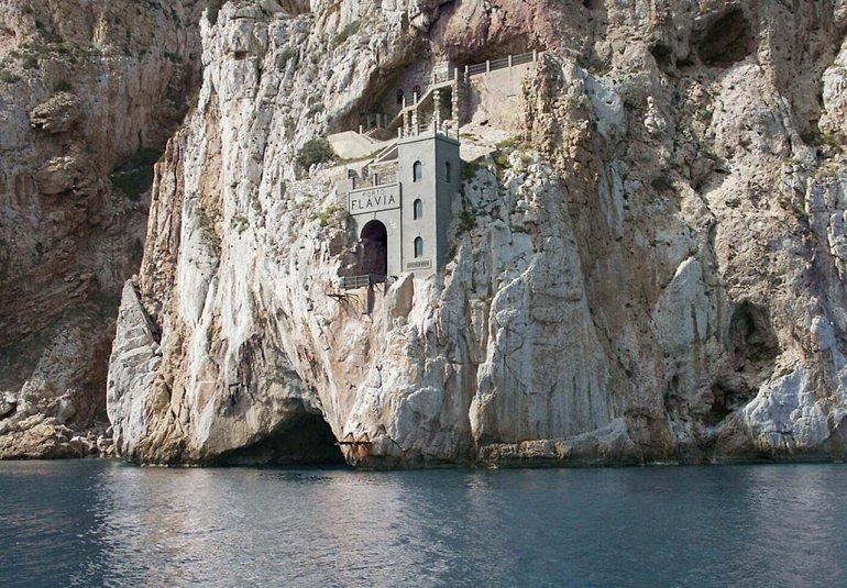 Porto Flavia Sardinia Italy