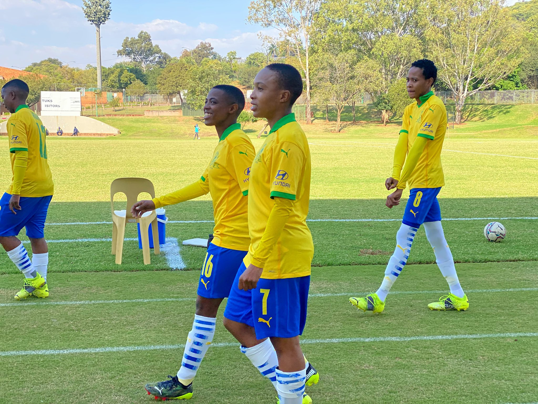 Masandawana's first-team players are expected to return after resting against Tsunami Queens