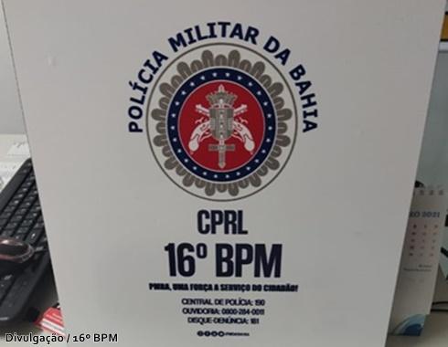 Confira as últimas ocorrências policiais na área de atuação do 16ºBPM, da  última sexta-feira