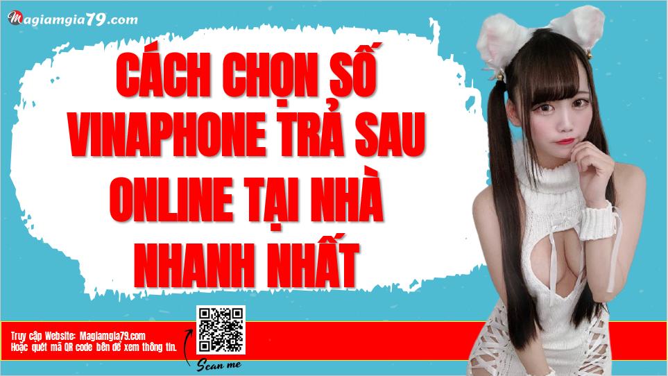 Cách chọn chọn số VinaPhone trả sau online tại nhà