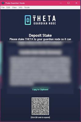 Theta Deposit Stake Guardian Node