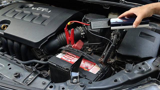 batterie de voiture défectueuse
