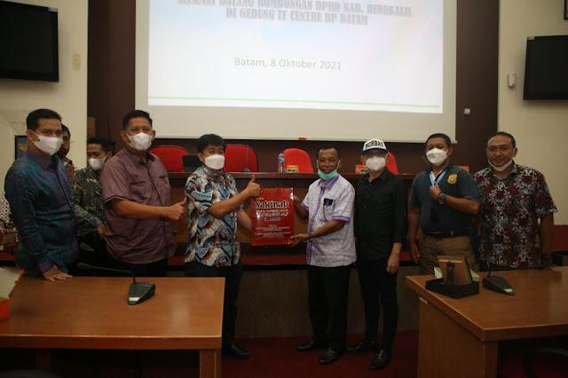 Pansus DPRD Kabupaten Bengkalis Kunjungi BP Batam Studi Banding Terkait Pengelolaan Limbah Domestik