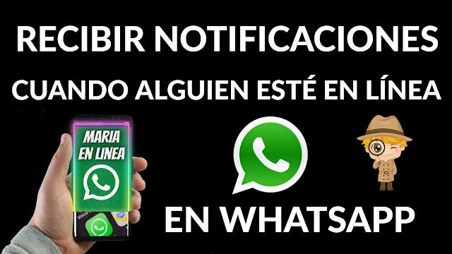 Como saber cuándo un contacto está en línea en WhatsApp