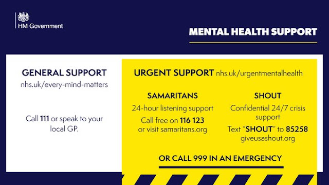 Mental Health support in the UK for anyone who needs it
