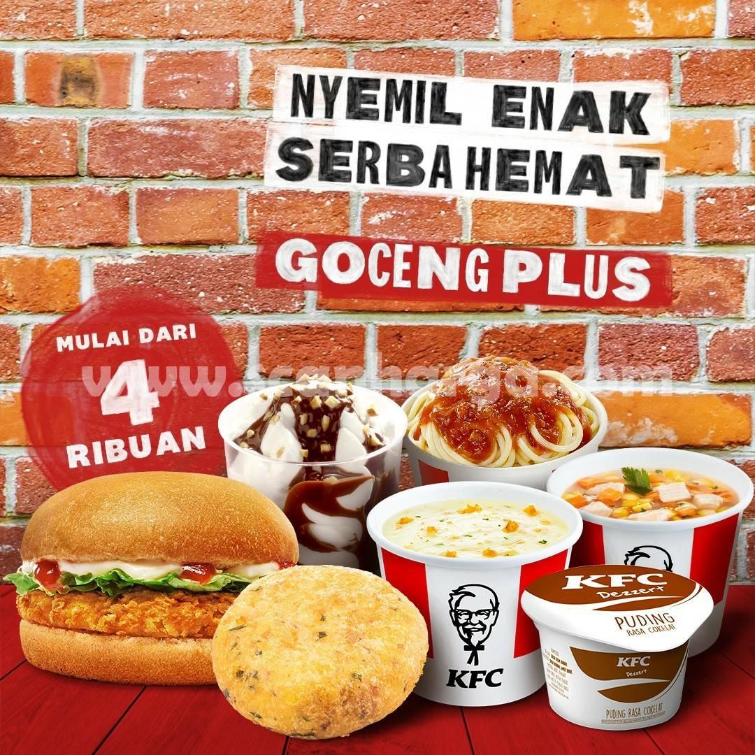 Promo KFC GOCENG PLUS mulai 4 Ribuan hingga 28 Oktober 2021
