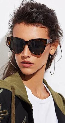 Beautiful Oversized Cat Eye Sunglasses