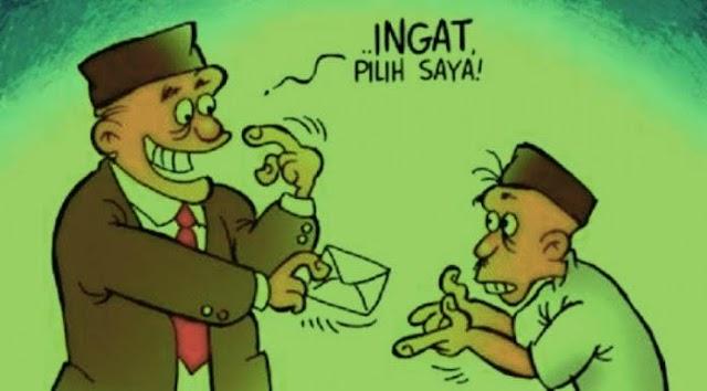 Diduga Oknum Anggota DPRD Kabupaten Lampung Selatan Saat Masa Tenang, Lakukan Kampanye Terselubung