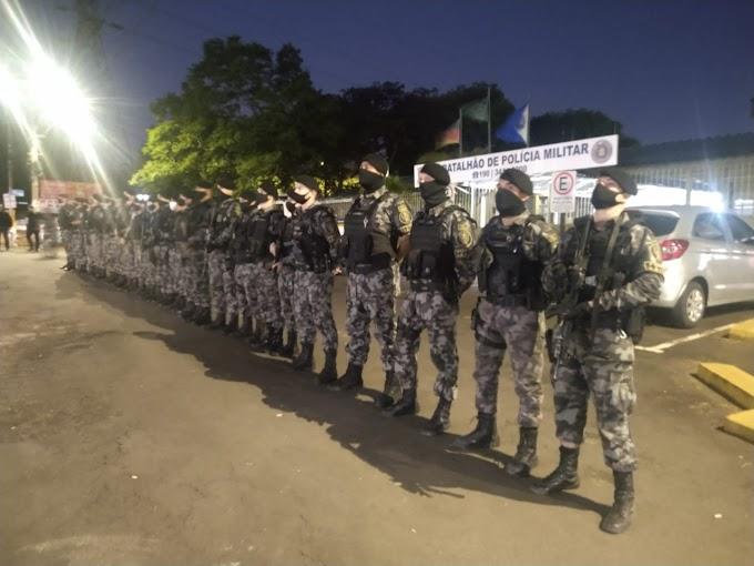 """Brigada Militar de Cachoeirinha e Gravataí realizam """"Operação Esforço Integrado"""""""