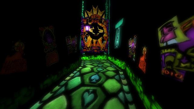 Screenshot of Edgar's level from Psychonauts