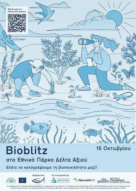 Bioblitz στο Εθνικό Πάρκο Δέλτα Αξιού