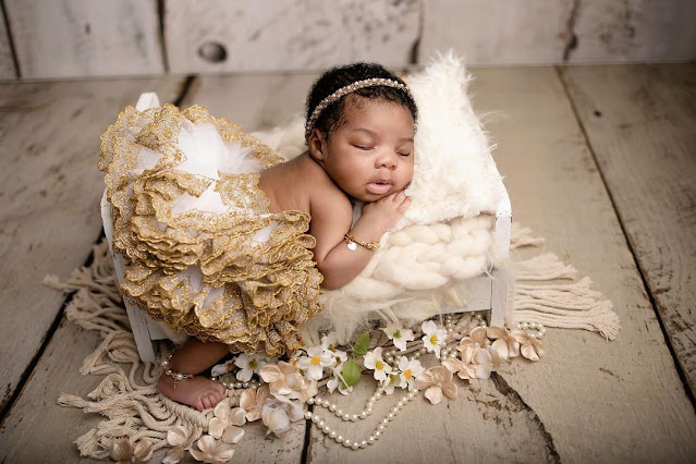 They wished me death while you were in my stomach- Toyin Lawani laments as she celebrates her daughter at 2months (Photos)