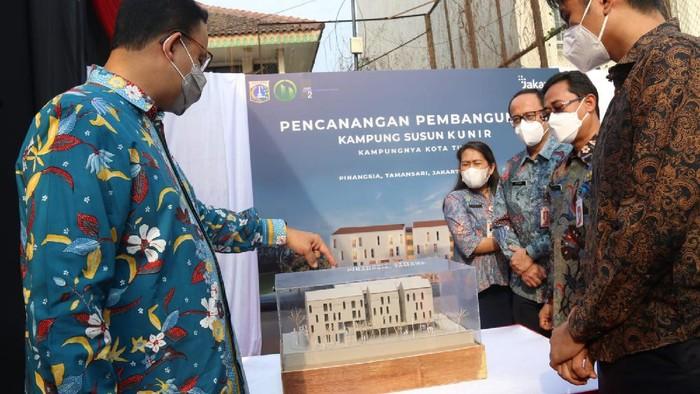 Kritik Rencana Anies Bangun Rusun di Kampung Kunir yang Digusur Era Ahok, PDIP: Pencitraan!