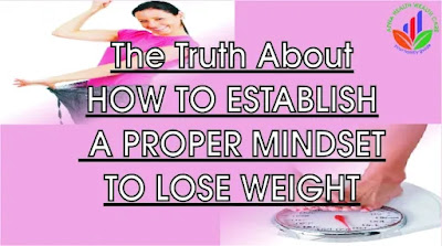 How to establish a proper mindset to lose weight
