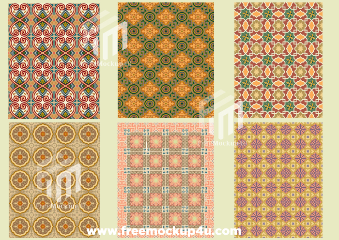 10 Geometric pattern Vector For Graphics Design Pack