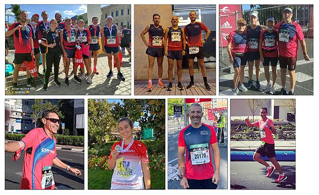 Maratón Madrid Atletismo Aranjuez