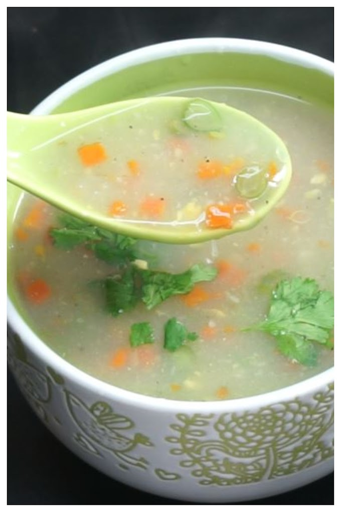 Madras Soup Recipe  - மெட்ராஸ் சூப் செய்முறை தமிழில்