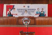 Usai Melayat di Buyungon, Wabup Petra Hadiri Pelantikan Ketua TP PKK Kecamatan