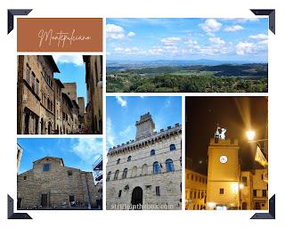 Montepulciano itinerario