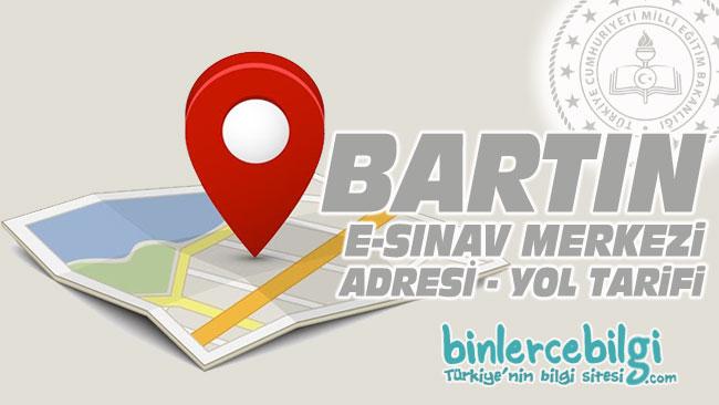 Bartın e-sınav merkezi adresi, Bartın ehliyet sınav merkezi nerede? Bartın e sınav merkezine nasıl gidilir?