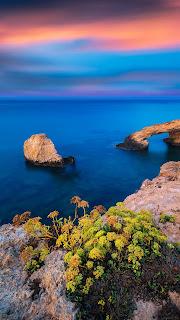 Океан,природа,берег на экран телефона.