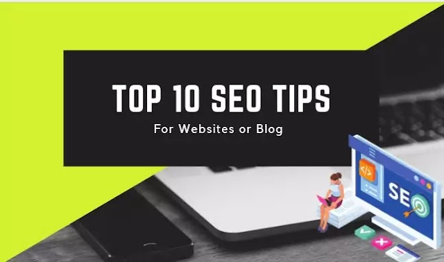 Top 10 seo tips for blogging