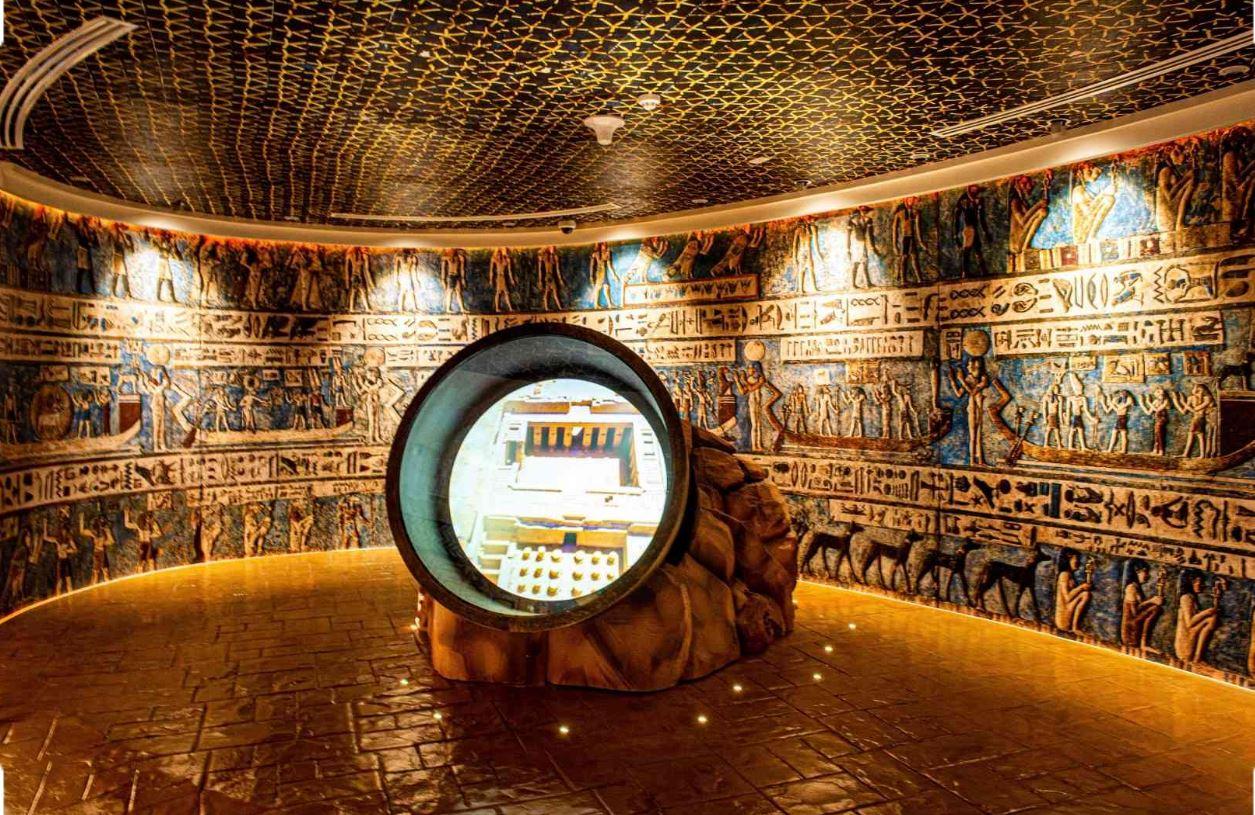 جناح مصر في إكسبو دبي Expo Dubai ينجح في استقبال الزوار للقيام برحلة عبر التاريخ