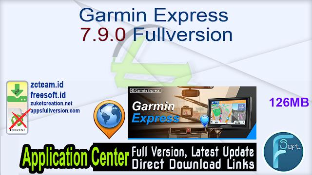 Garmin Express 7.9.0 Fullversion
