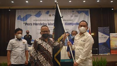 Hilman Hidayat dan Olan P Sibarani Terpilih Jadi Ketua PWI dan BKD Jabar