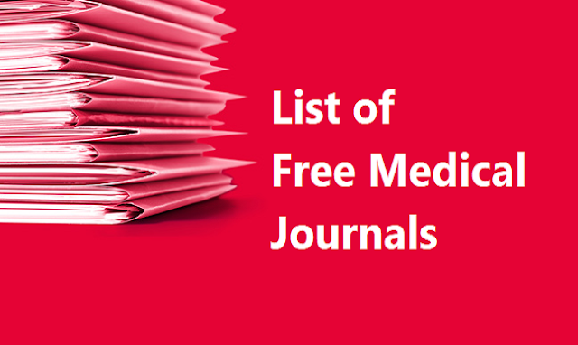 Free Medical Journals: Publish without Publication fee